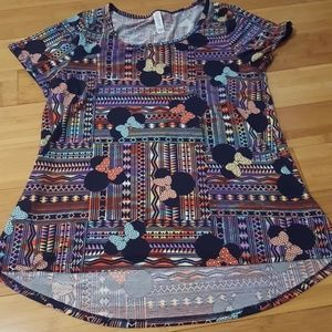 Medium LulaRoe Minnie Mouse Top